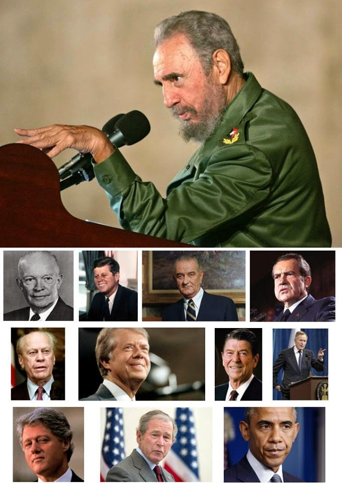 fidel_usa presidents