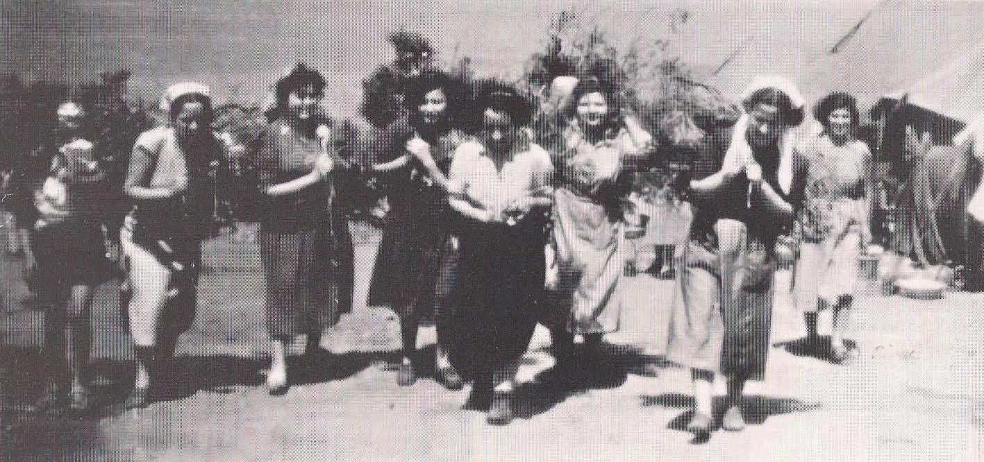 Η μέρα της άφιξης των γυναικών στη Μακρόνησο