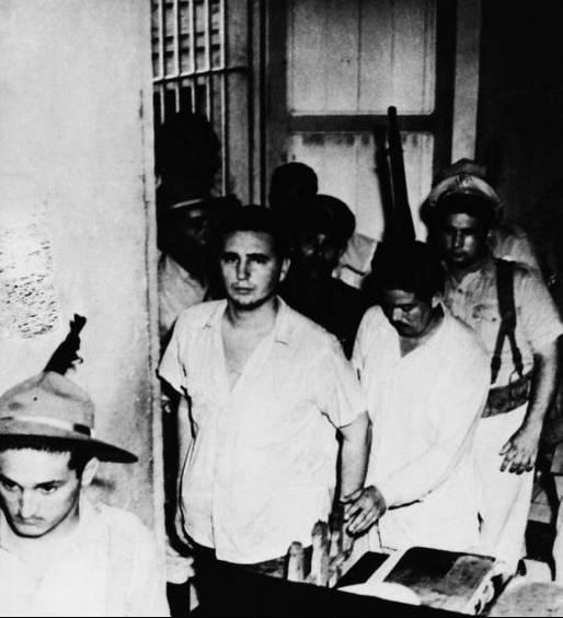 Ο Φιντέλ Κάστρο κατά τη διάρκεια της δίκης. Φωτογραφία: Keystone-France, Getty Images