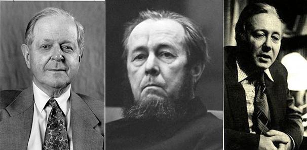 Η... τριανδρία της αντισταλινικής προπαγάνδας: Κόνκουεστ, Σολζενίτσιν, Μεντβέντεφ