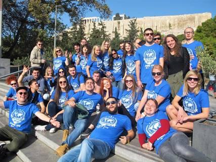 Multilingual United jaunimo mainų projektas Atėnuose