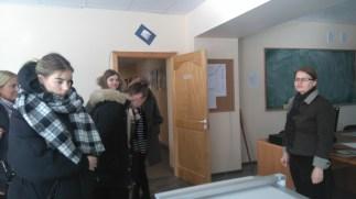 """2017 m. vasario 15 d. Kraštotvarkos ir Agroverslo technologijos katedroje lankėsi moksleiviai iš Vilniaus """"Židinio"""" gimnazijos"""