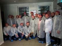 Maisto technologijos studijų programos studentų mokomoji išvyka į AB Vilniaus paukštynas