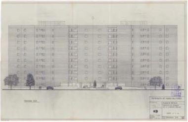 Alzado de una torre (3)