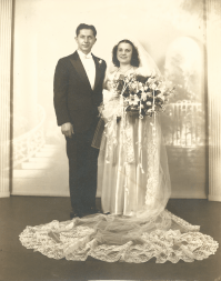 My parents on their wedding day - law breakers?