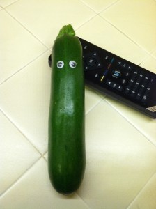 Zucchini with remote