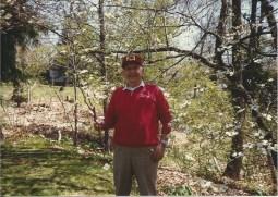 My dad enjoying spring in Pennsylvania.