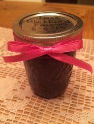 Fran's Blackberry Jam -- too cute to be scary.