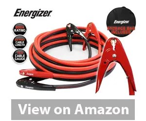 Energizer 1-Gauge 800A Heavy Duty Jumper Battery Cables 25 Ft Review