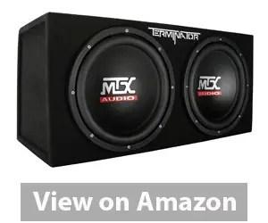MTX Audio Terminator Series TNE212D Sub Enclosure Review