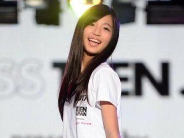 史上最年少!!ミス・ティーン・ジャパンに中学1年生糸瀬七葉さんがグランプリ