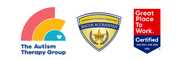 The Autism Therapy Group, BHCOE Accreditation and Great Place to Work Badge
