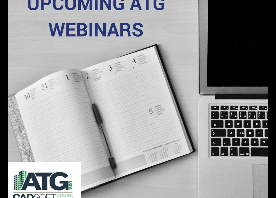 Upcoming ATG Webinars