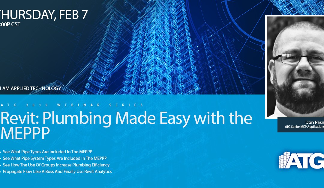 Revit: Plumbing Made Easy with the MEPPP Webinar