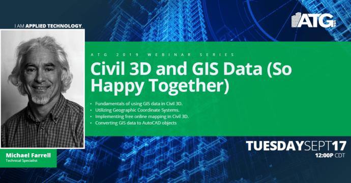 ATG Webinar- Civil 3D & GIS Data (So Happy Together)