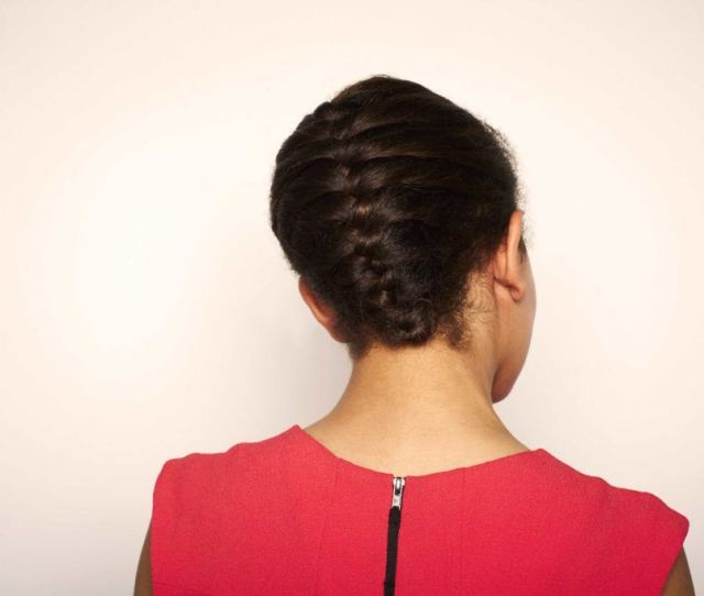 French Braid Hairstyles To Wear Over The Weekend Tucked Braid