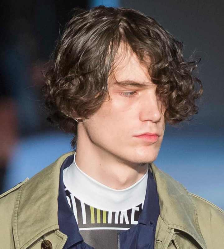 Curly hair men our fave styles & how to work them for your face shape