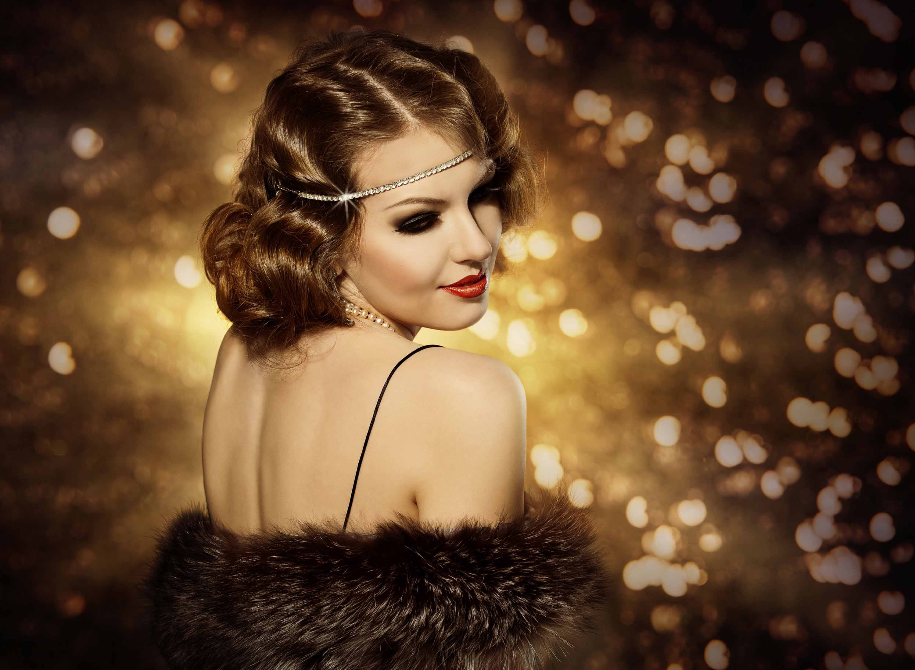 Great Gatsby Hairstyles Short Hair Page 1
