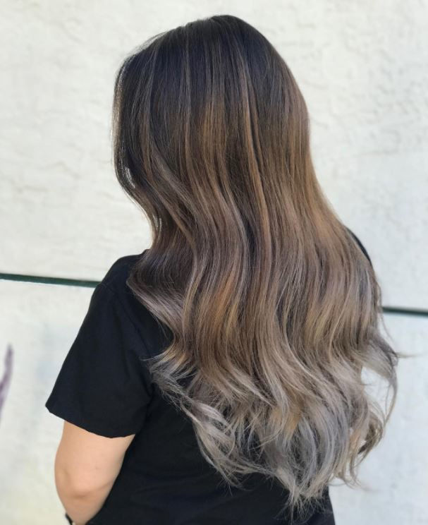 Image Result For Black Hair With White Tips
