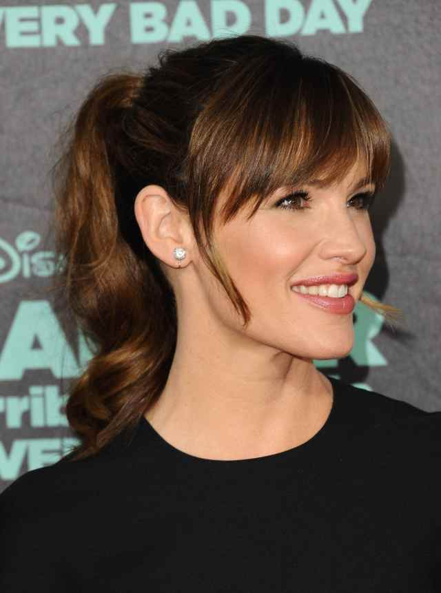Ponytail  with bangs  10 fresh new ways to wear the style