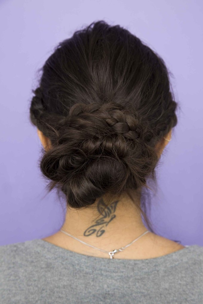 low buns: 4 chic low buns for thanksgiving weekend (and beyond)