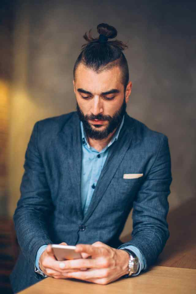 man bun fade: 5 elegant styles for formal occasions