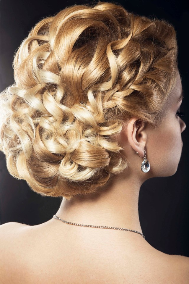 wedding updos for curly hair: 9 styles to inspire your