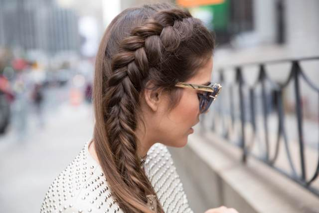 side french braid for every kinda gal: here's how to do it