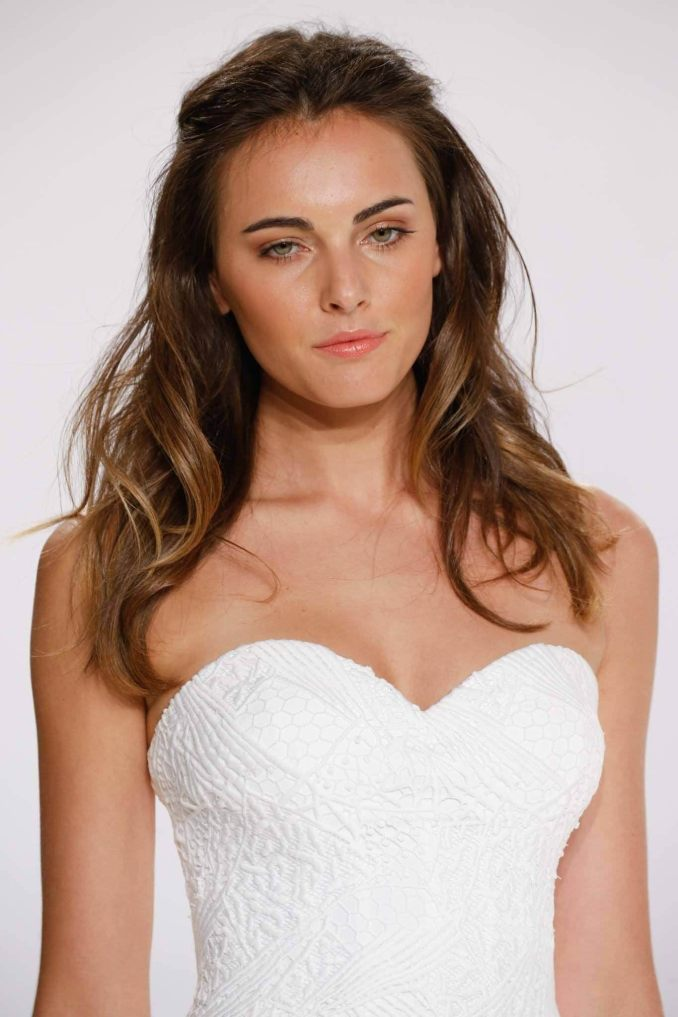 42 fun-to-wear half up half down wedding hairstyles