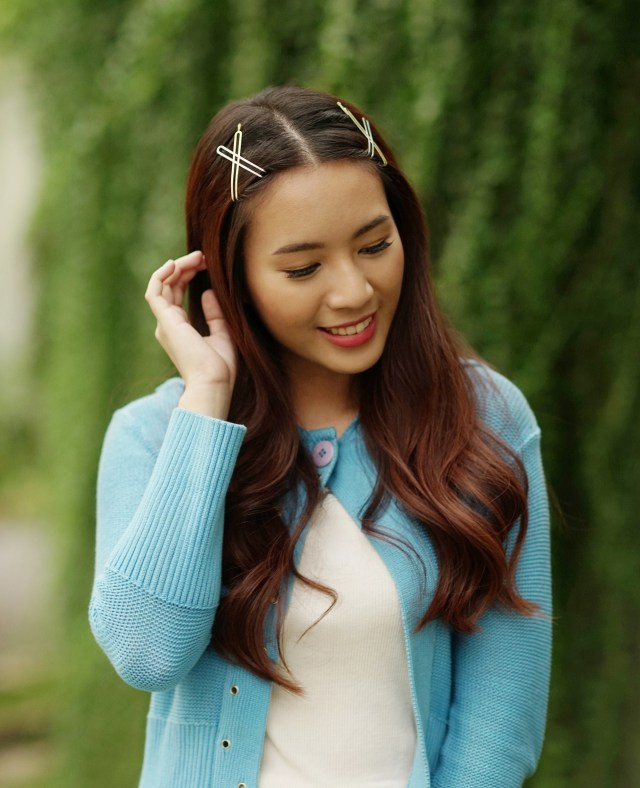 chic hair clip hairstyles to inspire you