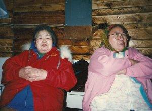 My grandmothers, Lydia Simon and Alda Frank