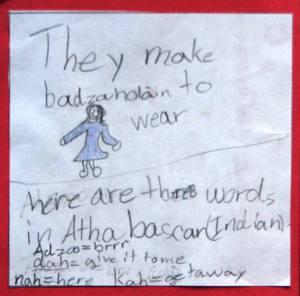 Athabascan - Badzahoolan