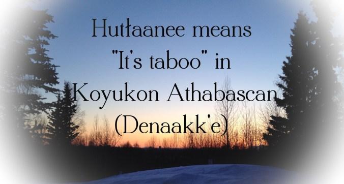 Hutłlaanee in Denaakk'e