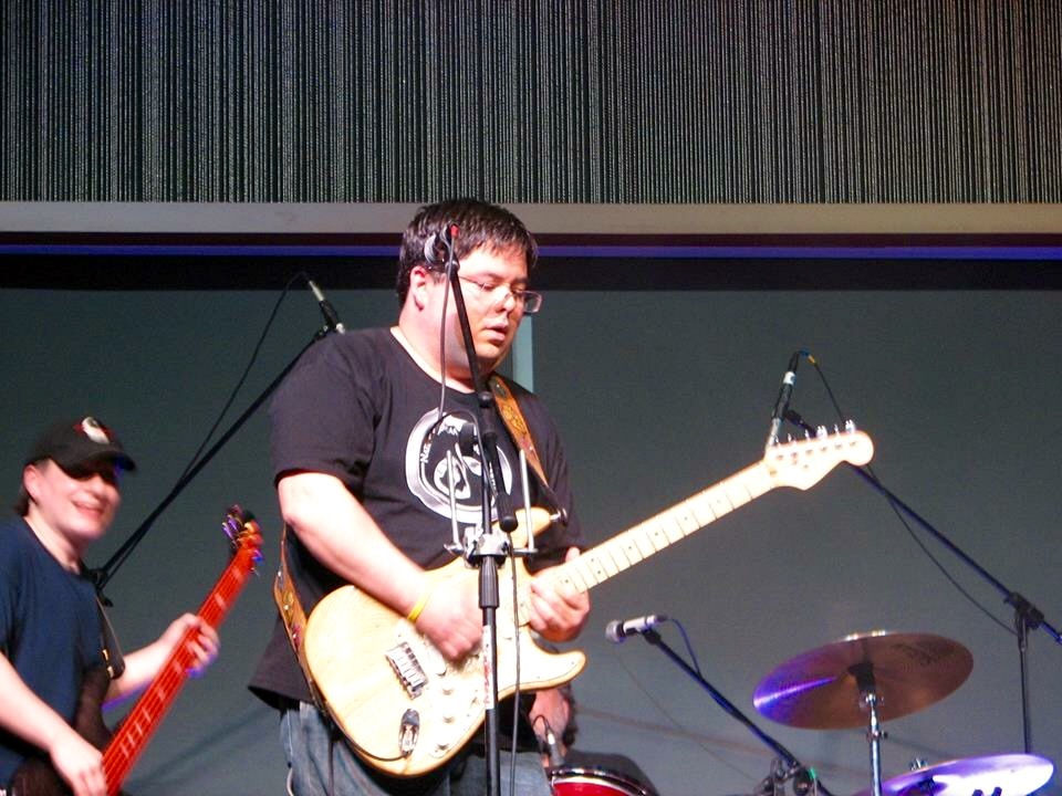 Marc Brown and the Blues Crew performing in 2011 in Anchorage. Photo by Angela Gonzalez