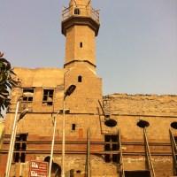 مسجد عارف باشا، الدرب الاحمر