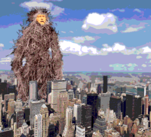 """Artists rendering of what would occur if PZ Myers ever makes it to the """"big city"""""""