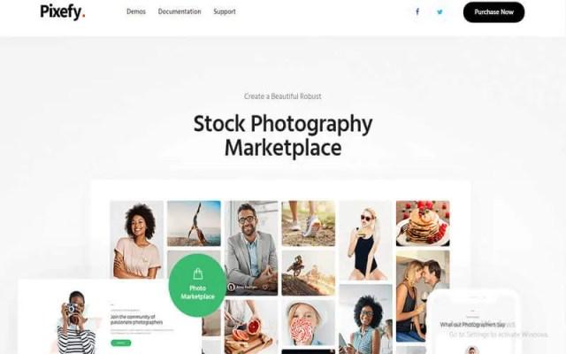 Photography Marketplace Theme