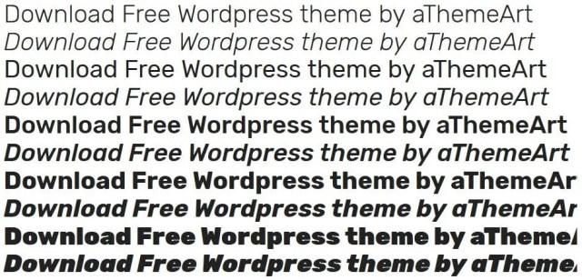 wordpress google webfont