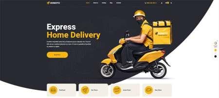 Popular Food Delivery WordPress Theme