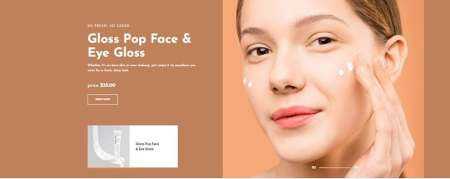 wordpress cosmetics theme