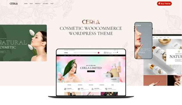 cerla beauty center wordpress theme