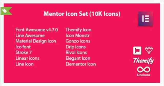 icon pack for elementor