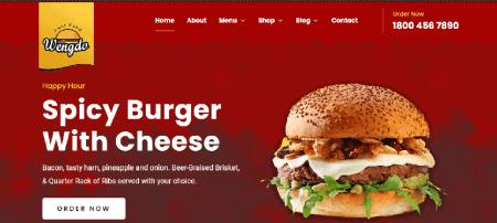 foodie WordPress themes