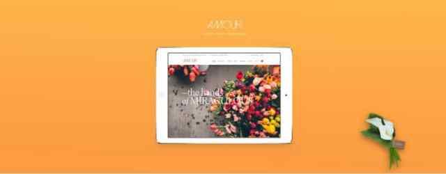 amour-shop-wordpress-theme-flower-jewelry-handmade-gift