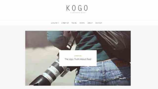 kogo-professional-wordpress-blog-themes-free