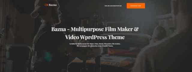 best wordpress theme for video production company