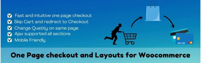 One page checkout and layouts for woocommerce