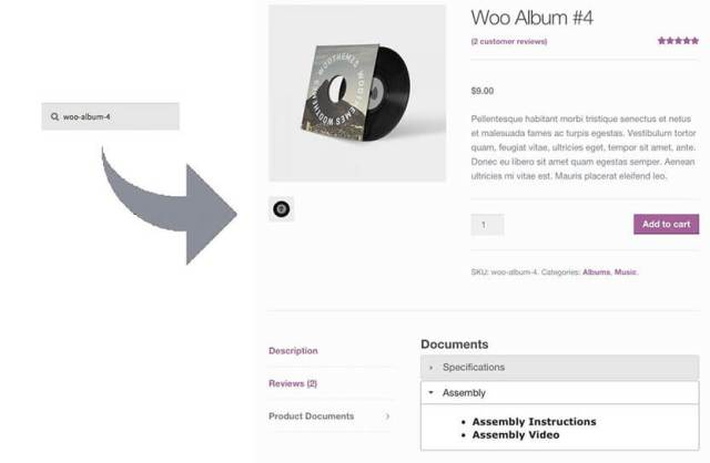 search-on-sku-woocommerce