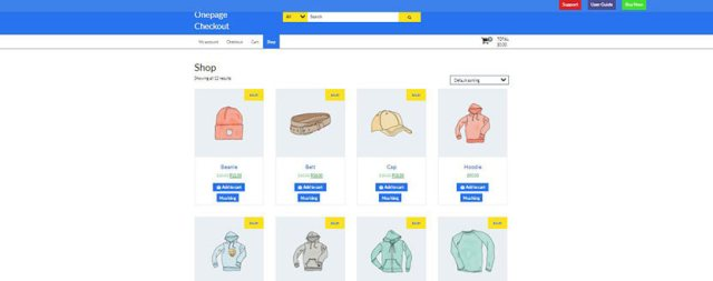 WordPress WooCommerce One Page Checkout Plugin