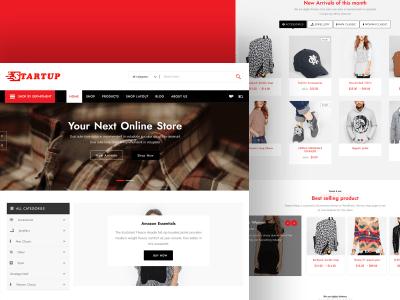 Startup Shop :- Minimal & Fastest WordPress/ WooCommerce Theme